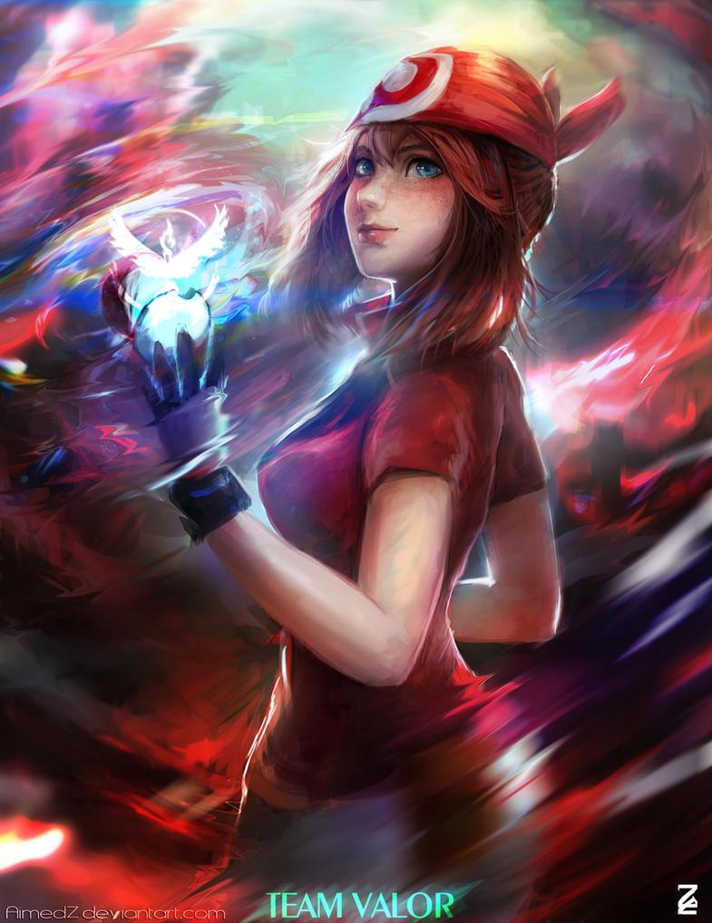 Pokemon MAY by AimedZ