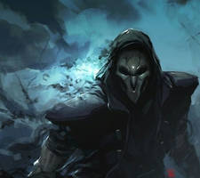 The Reaper [Overwatch] by ItsReaper616