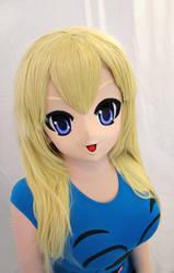 Generic smiling kigurumi cosplay mask by EmilyWaite