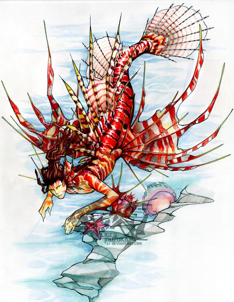 The Lionfish by Liger-Inuzuka
