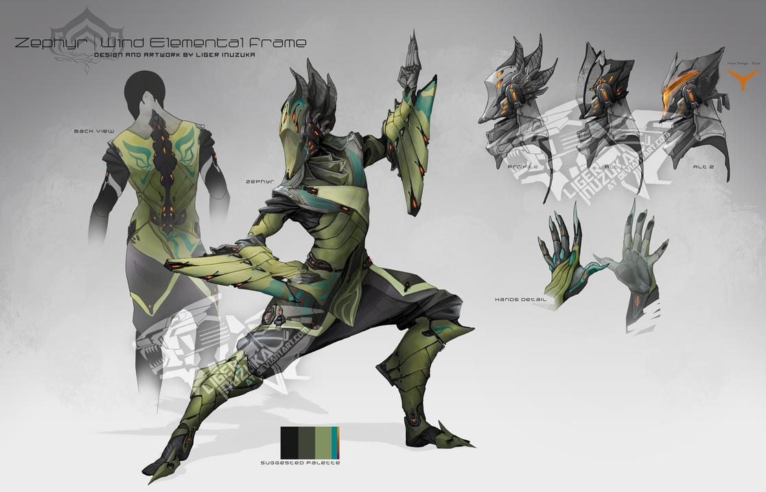 Warframe - Zephyr Concept by Liger-Inuzuka on DeviantArt