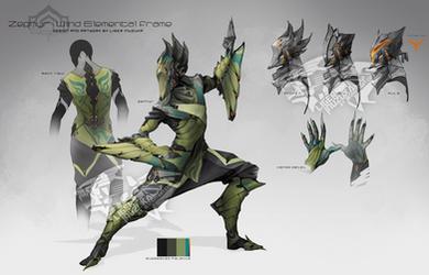 Warframe - Zephyr Concept by Liger-Inuzuka