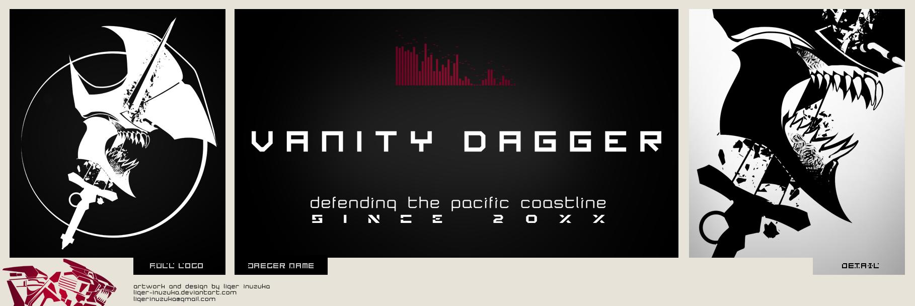 Jaeger Emblem: Vanity Dagger by Liger-Inuzuka