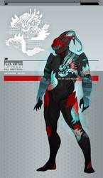 Warframe: Flux Dragon Full Body Sygil