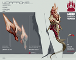 Warframe: Infested Kunai Concept