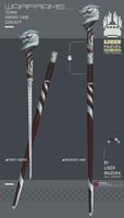 Warframe: Tenno Cane Sword Concept