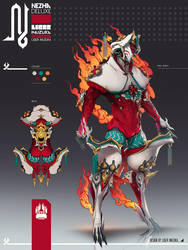 Warframe: Nezha Deluxe Skin by Liger-Inuzuka