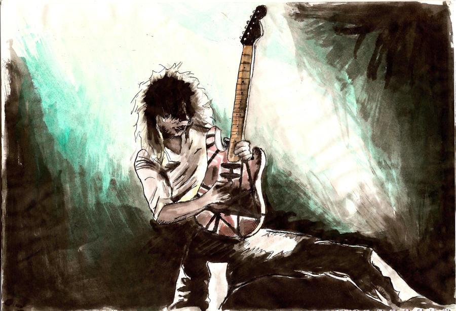 Edward Van Halen by maiden5150