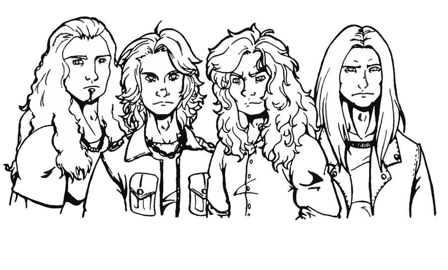 Megadeth 2010 by Efe-the-dawnbringer