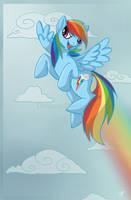 Rainbow Dash by Key-FeathersMLP