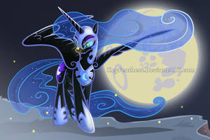 Nightmaremoonsml2 by Key-FeathersMLP