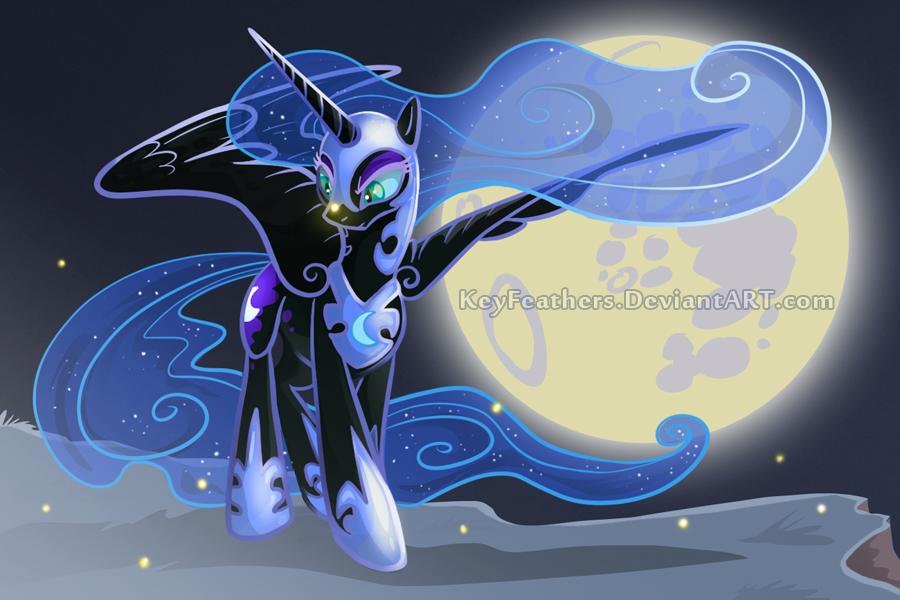 Nightmaremoonsml2 by Key-FeathersMLP