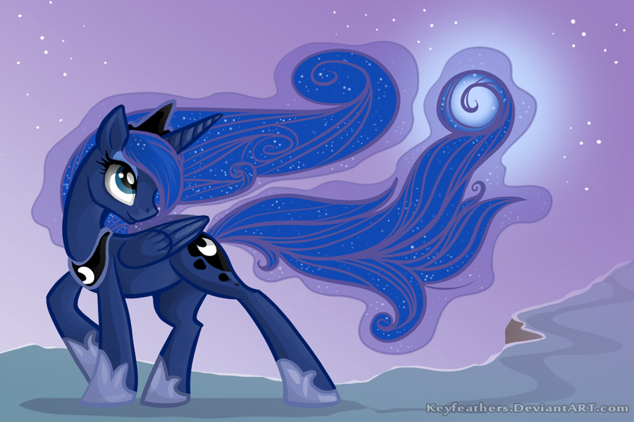 Luna by Key-FeathersMLP