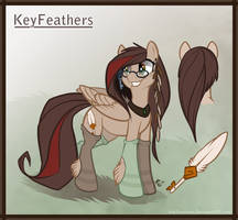 KeyFeathers Ref by Key-FeathersMLP