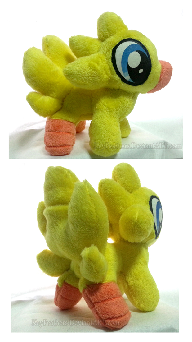 My little Chocobo by Key-FeathersMLP