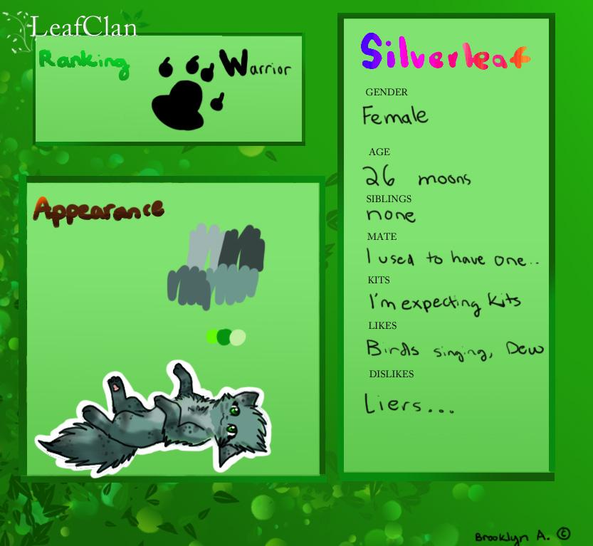 Silverleaf form by brooklynkillsdreams on deviantart for Silverleaf login