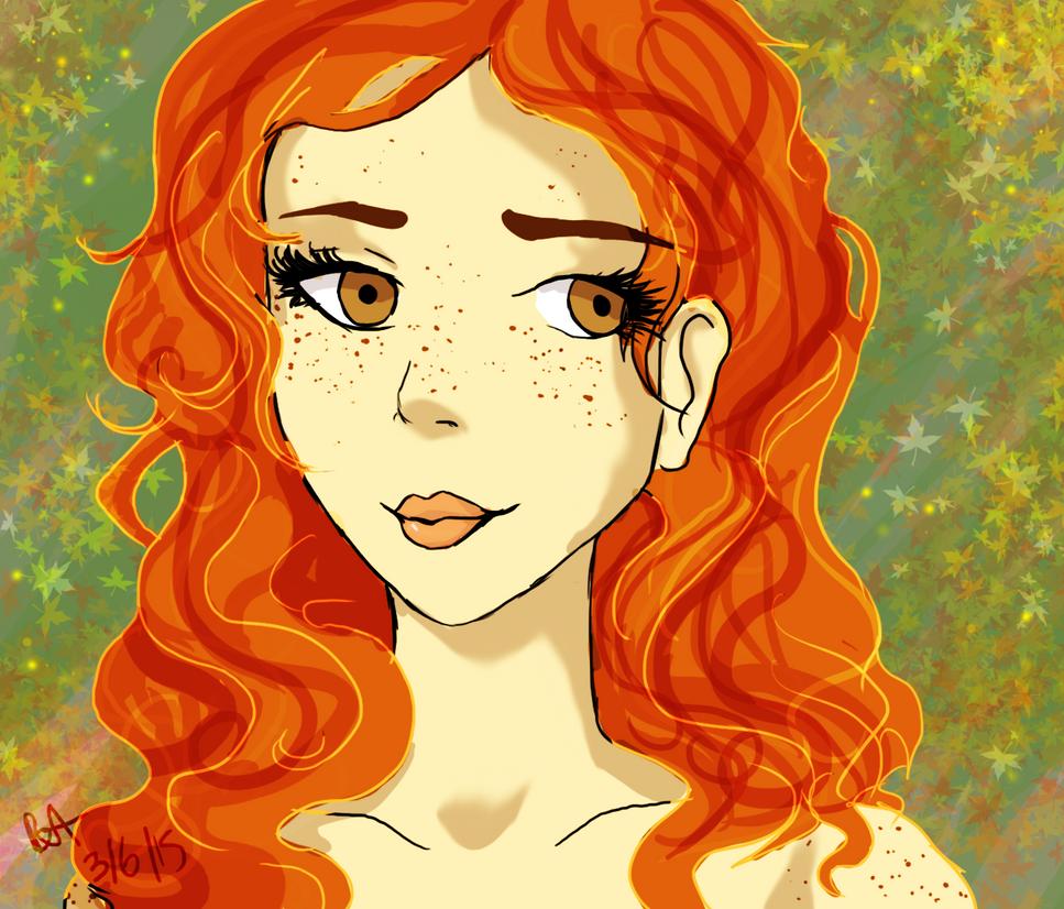 Freckled Red by BrooklynKillsDreams
