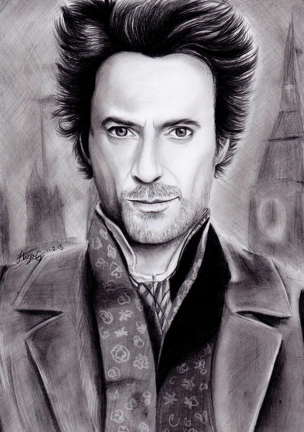 Robert Downey Jr Hairstyle Sherlock Holmes