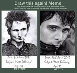 Draw This Again::Matt Bellamy by izziwizVIII