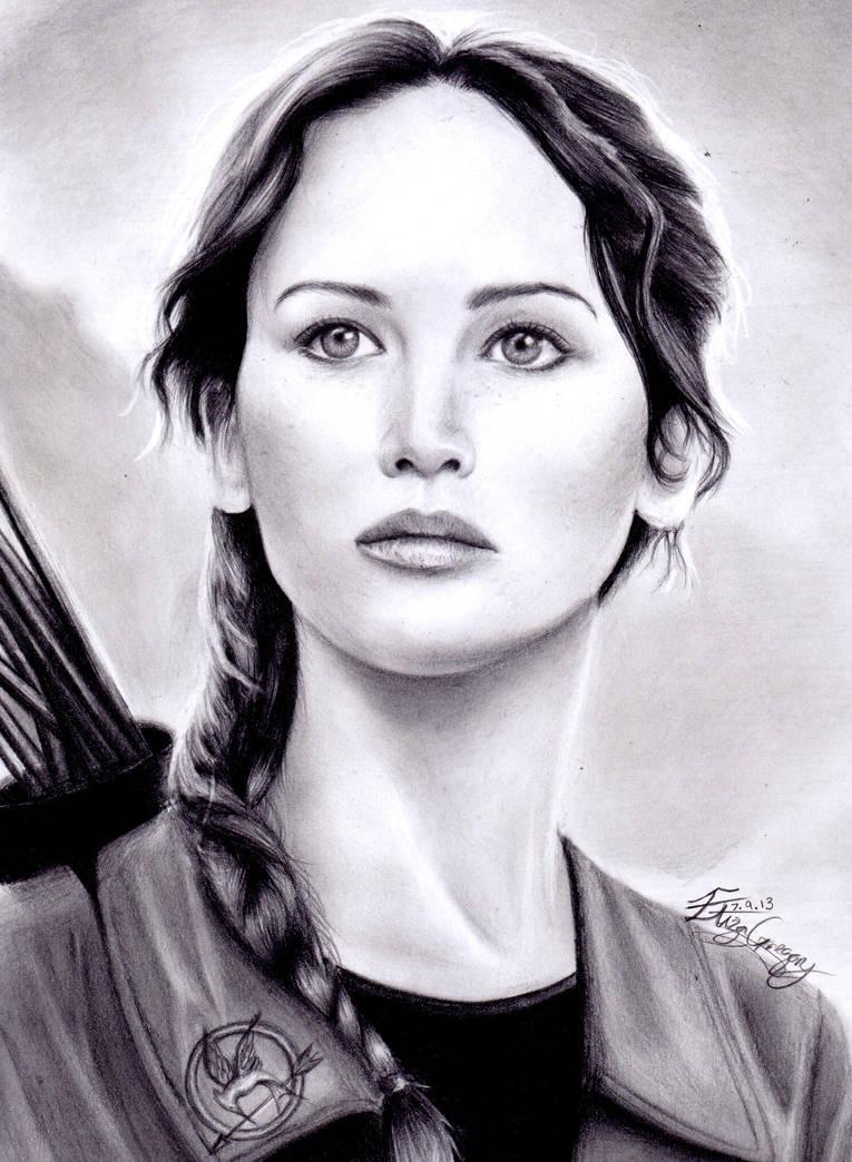 Katniss by izziwizVIII