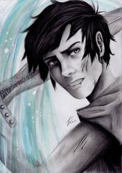 Percy Jackson, Son of Poseidon