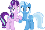Starlight and Trixie (caught)