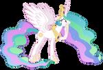 Princess Celestia (worry vector)