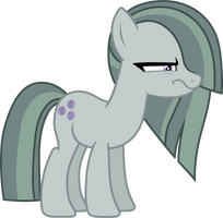 Marble Pie (serious look vector) by davidsfire