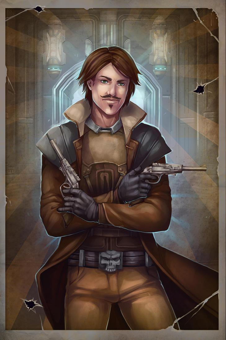 Hero of Fort AmberCon - Propaganda Poster, 1 of 3 by racespiro