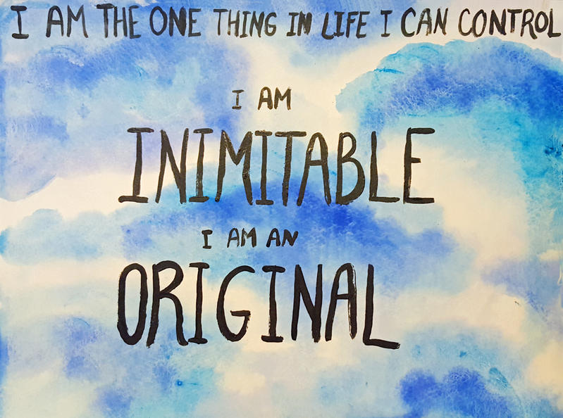 HamilQuote--One Thing in Life I Can Control v 2 by Mahersal