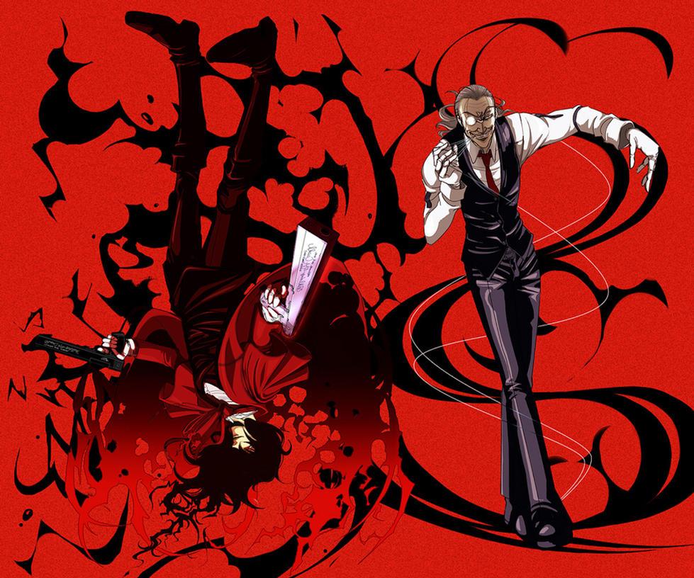 Pictures Of Hellsing Ultimate Alucard Vs Walter Kidskunstinfo