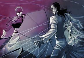 HELLSING and BLACKLAGOON 3 by ShadowLuhi