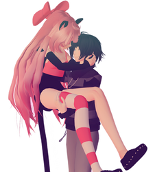 MMD Kawaii-Chan X Zane + POSE DOWNLOAD!!! by Joey-XuX