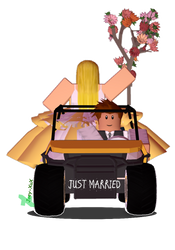 ROBLOX Render - Just married by Joey-XuX