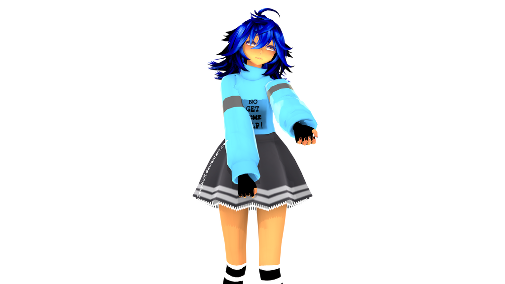 MMD/Blender Render by Joey-XuX