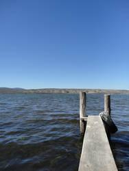 Ponton du lac