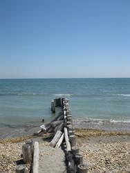 Ponton de mer