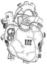 mechanical heart by spottedcricket