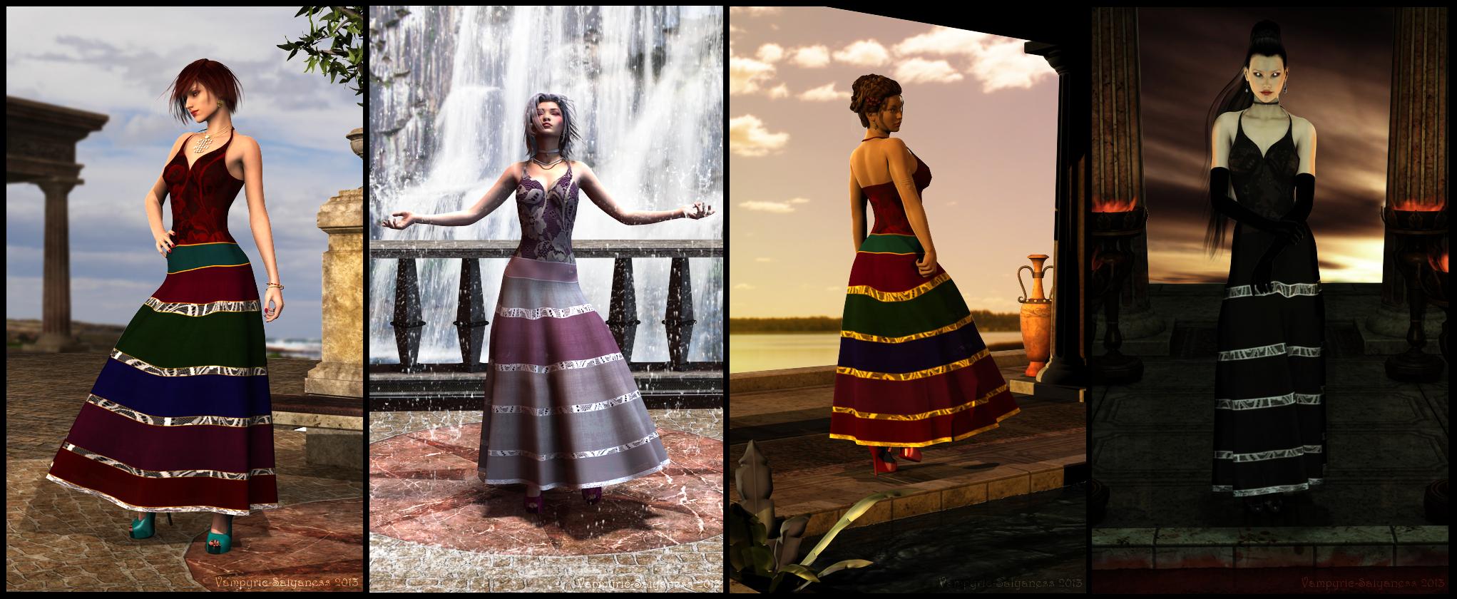 VS Rainbow Dress