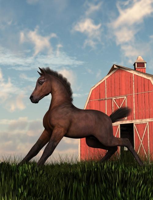 Foal by Vampyric-Saiyaness
