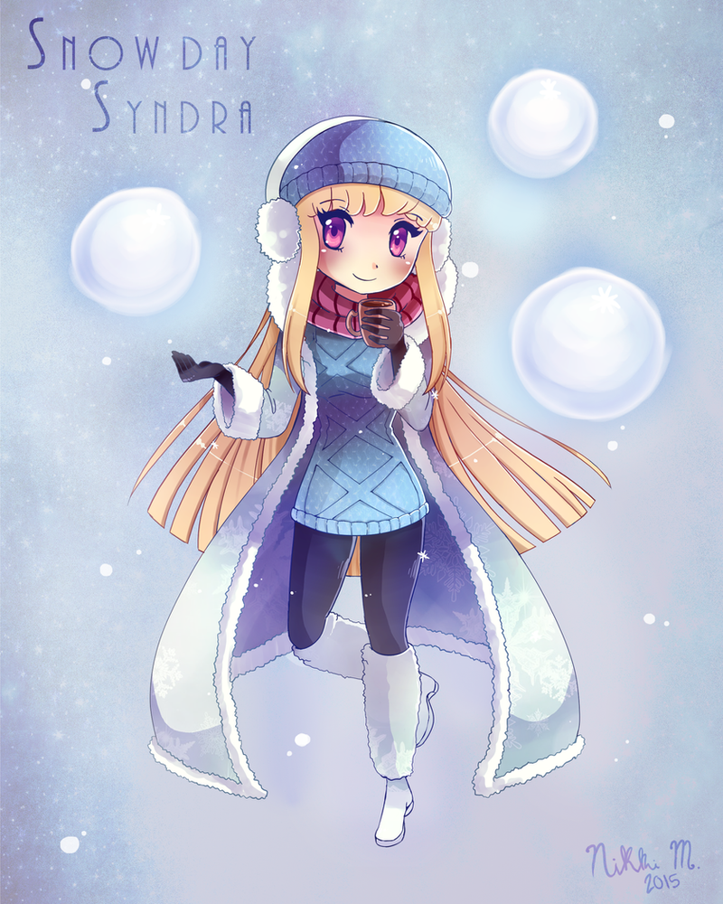 how to get snow day syndra