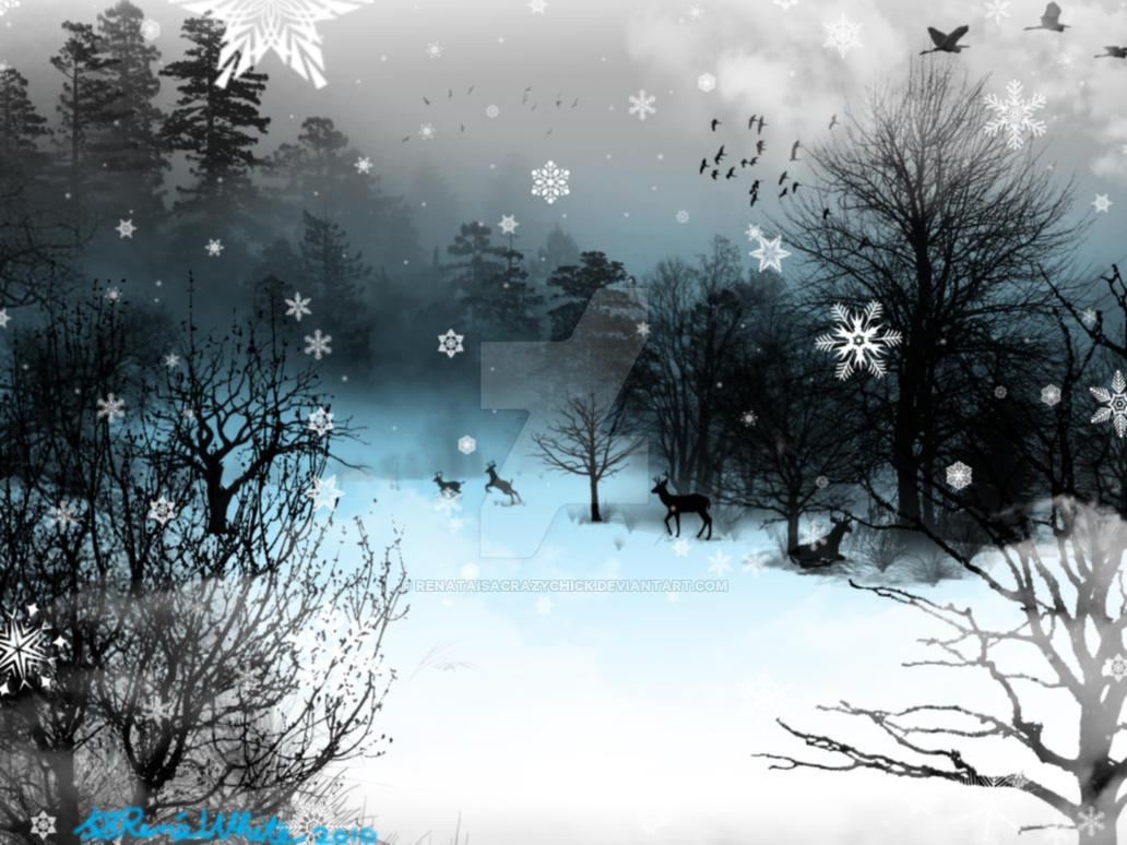 Winter escape by renataisacrazychick