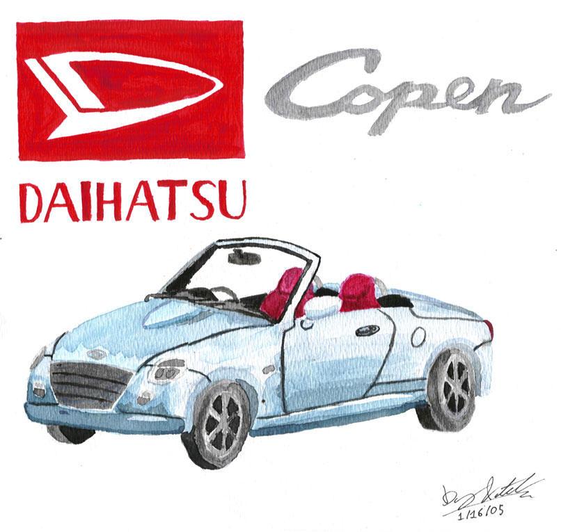 Daihatsu Car Wallpaper: Daihatsu Copen By PandaGuy87 On DeviantArt
