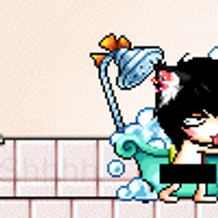 It's Censored..and it's just maplestory character by Kynjx