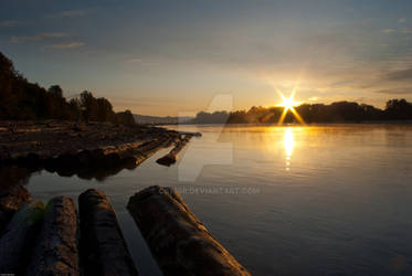 Fraser River Sunrise