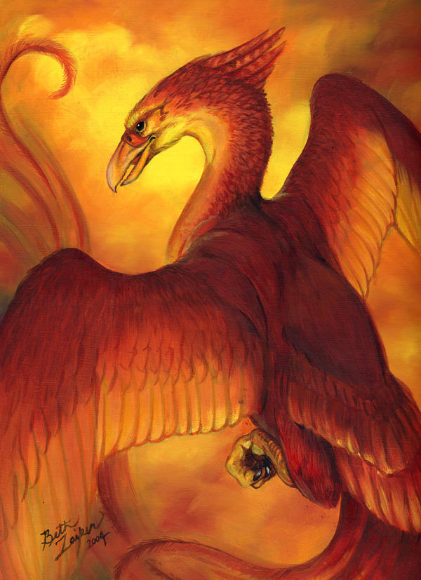Phoenix Oil by Damalia