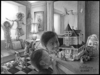 The Dollhouse by Damalia
