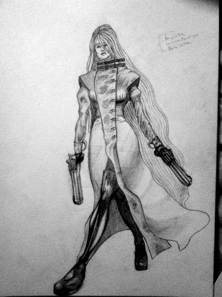 Gun Woman by TheRustyArts