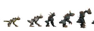 Spore evolution by dragonmanX