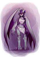 monster girl challenge 2 - Gargoyle by dragonmanX